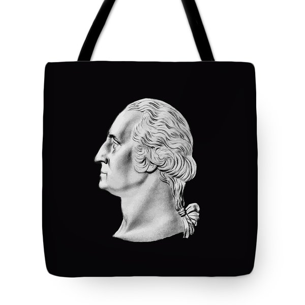 President Washington Bust  Tote Bag by War Is Hell Store