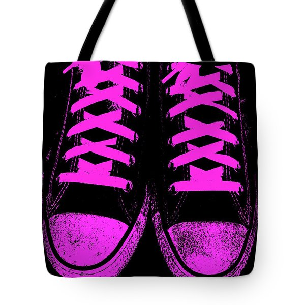 Pretty In Pink Tote Bag by Ed Smith