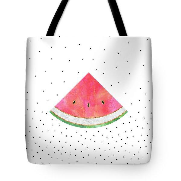 Pretty Watermelon Tote Bag by Elisabeth Fredriksson