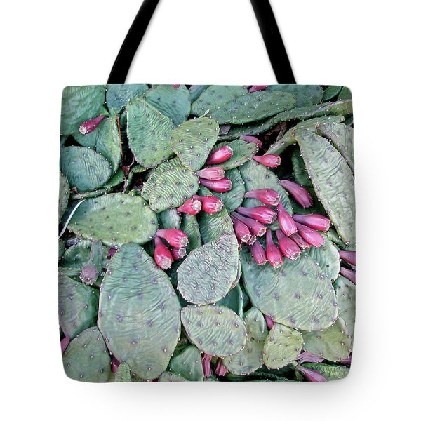 Prickly Pear Cactus Fruits Tote Bag by Mother Nature