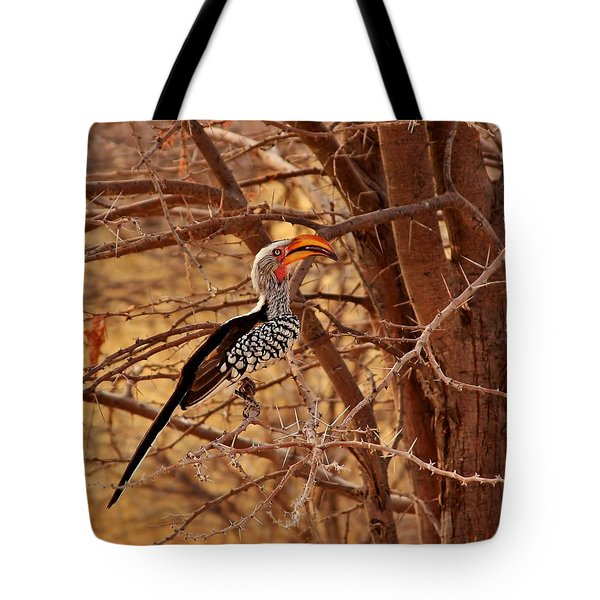 Prickly Perch 2 Tote Bag by Stacie Gary