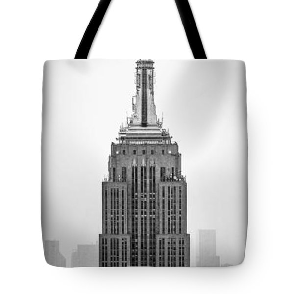 Pride Of An Empire Tote Bag by Az Jackson