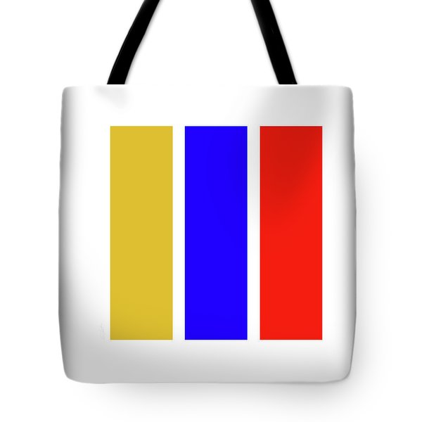 Primary Tote Bag by Charles Stuart