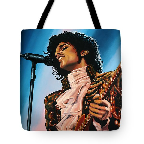 Prince Painting Tote Bag by Paul Meijering