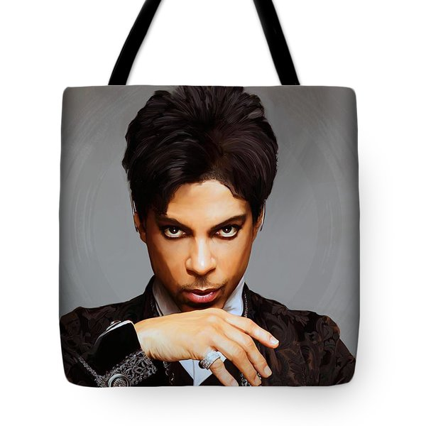 Prince Tote Bag by Paul Tagliamonte