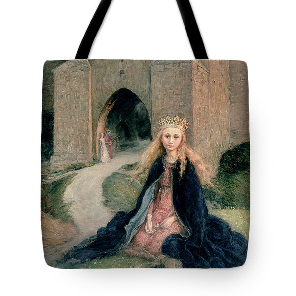 Princess With A Spindle Tote Bag by Hanna Pauli