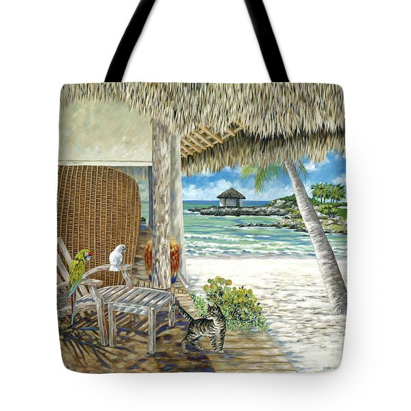 Private Island Tote Bag by Danielle  Perry