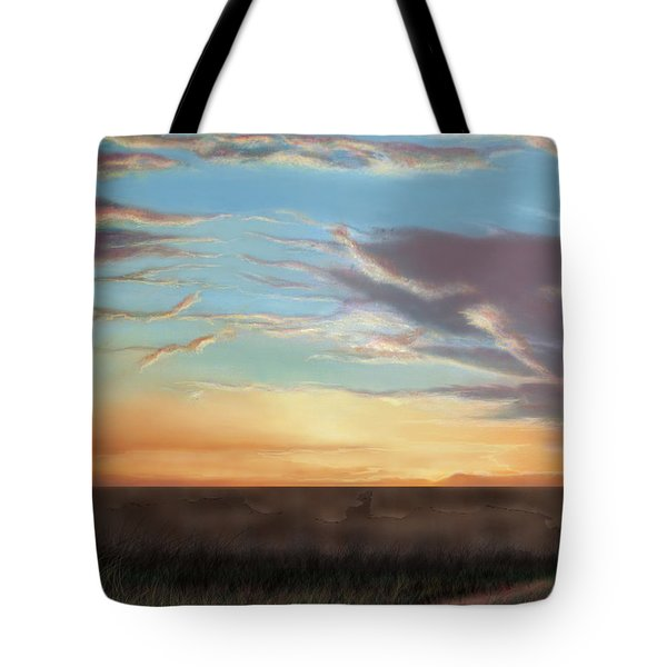 Private Sunrise.  Keep Out Tote Bag by Albert Puskaric