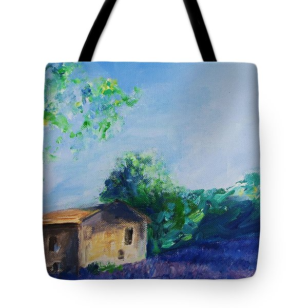 Provence House Tote Bag by Eric  Schiabor