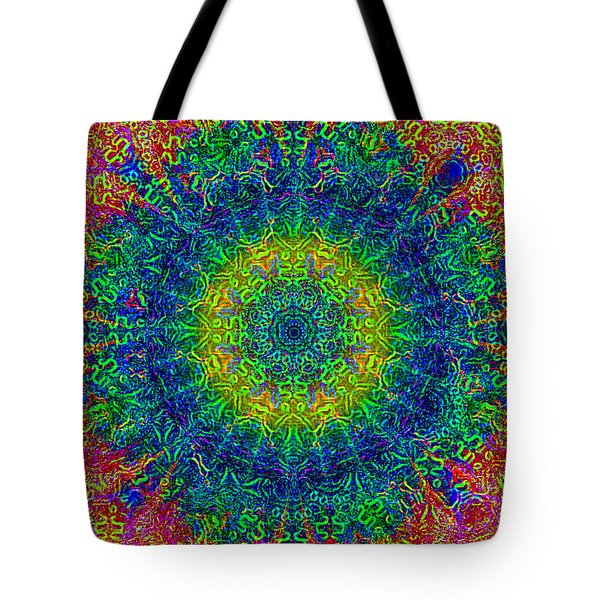Psychedelicize Tote Bag by Bill Cannon