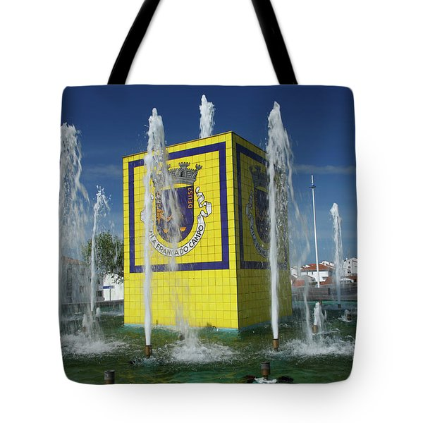 Public Fountain Tote Bag by Gaspar Avila