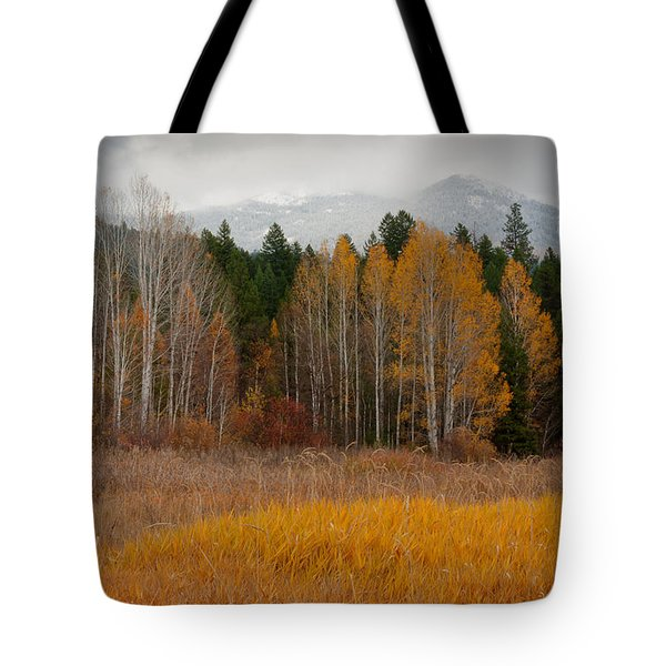Purcell Gold Tote Bag by Idaho Scenic Images Linda Lantzy