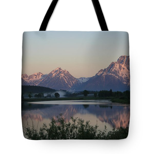 Purple Mountain Majesty  Tote Bag by Paula Guttilla