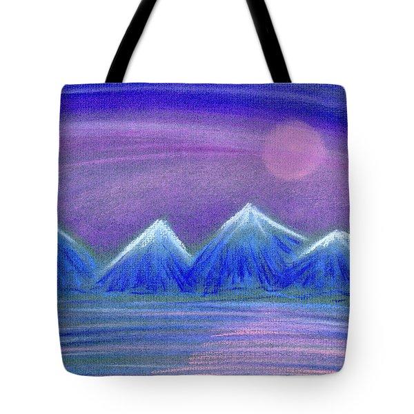 Purple Night 3 Tote Bag by Hakon Soreide