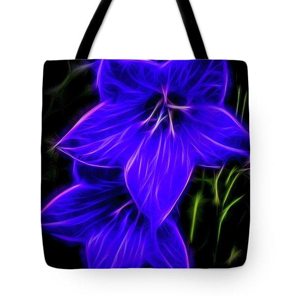 Purple Passion Tote Bag by Joann Copeland-Paul