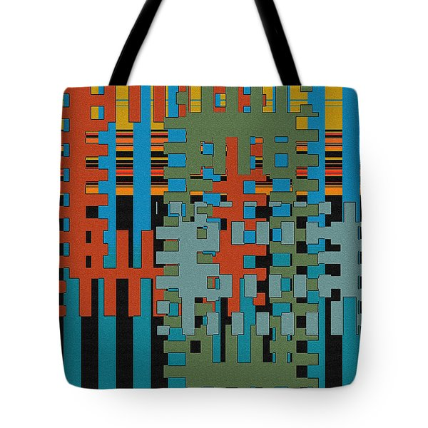 Puzzled Tote Bag by Ben and Raisa Gertsberg