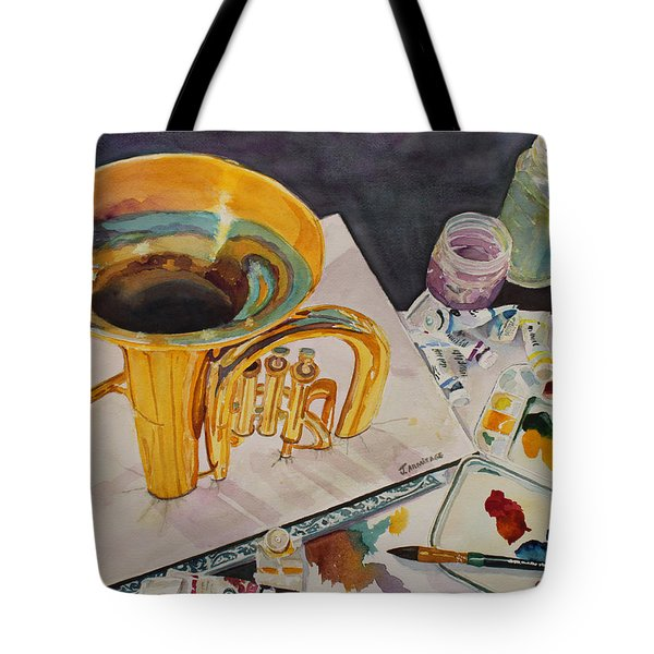 Pygmalion Joins The Band Tote Bag by Jenny Armitage