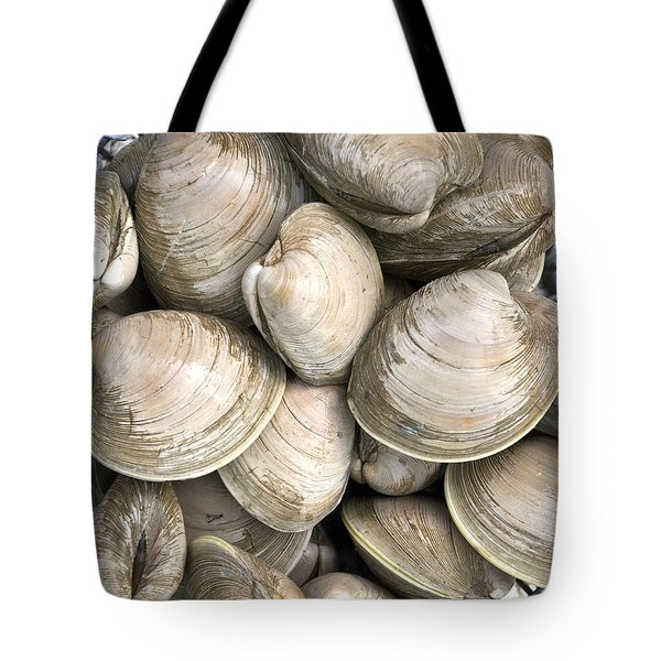 Quahogs Tote Bag by Charles Harden