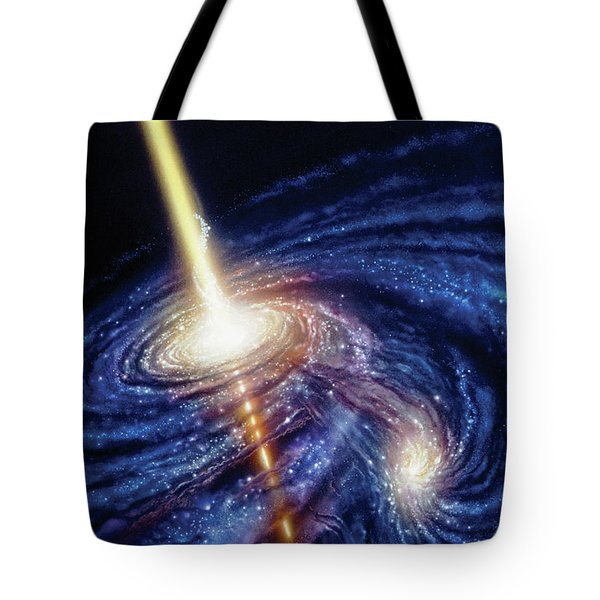 Quasar-b Tote Bag by Don Dixon