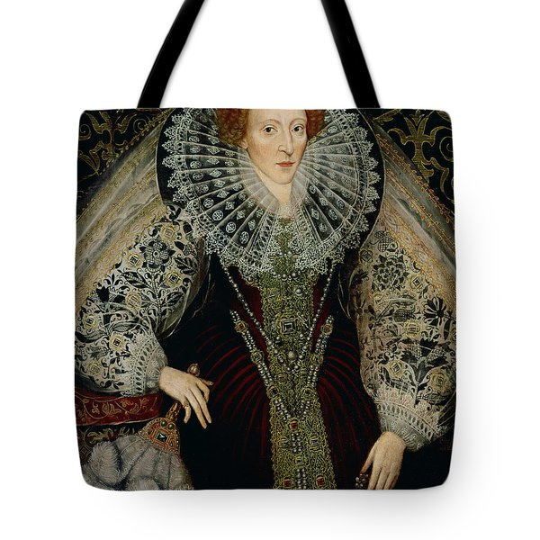 Queen Elizabeth I Tote Bag by John the Younger Bettes