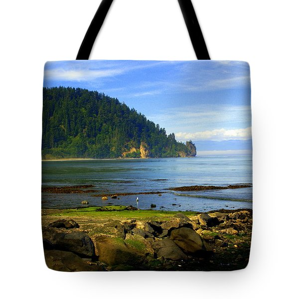 Quiet Bay Tote Bag by Marty Koch