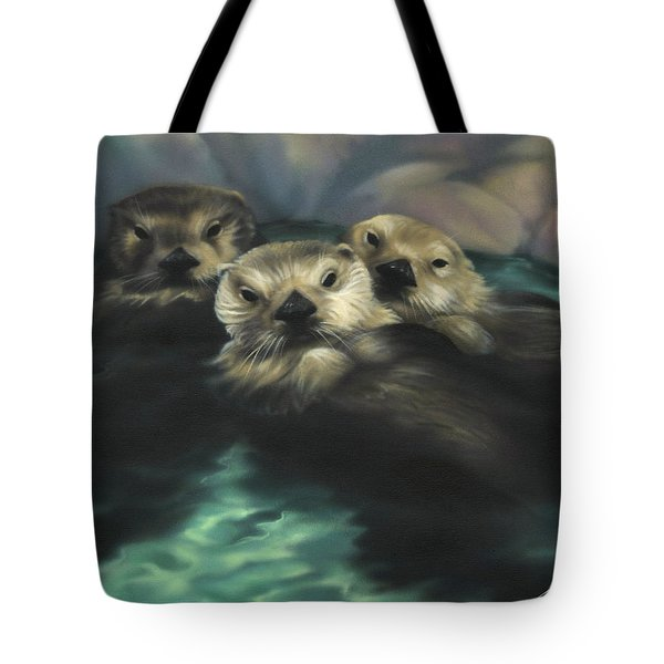 Quiet Cove Tote Bag by Lucy West