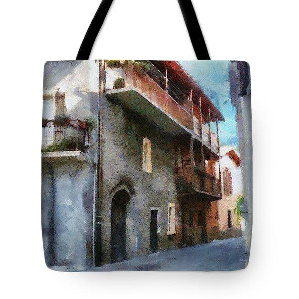 Quiet In Almenno San Salvatore Tote Bag by Jeff Kolker