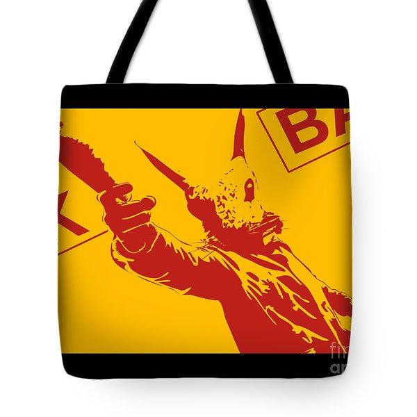 Rabbit heist Tote Bag by Pixel  Chimp