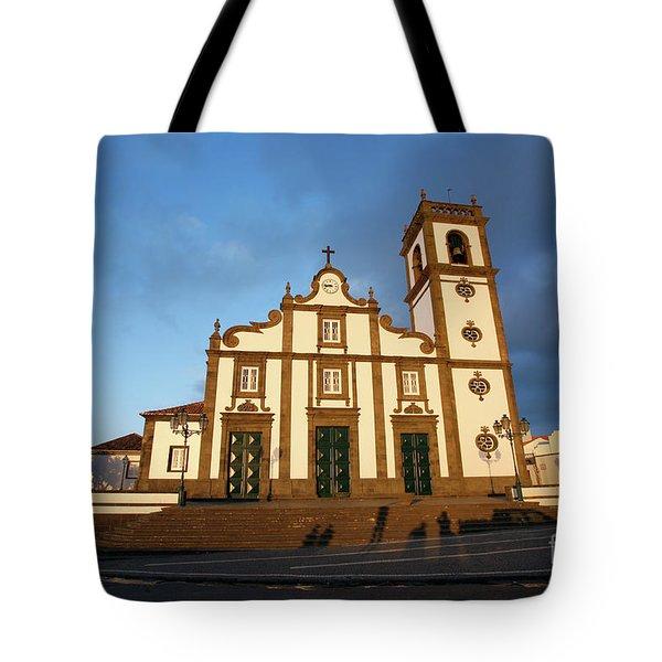 Rabo De Peixe Church Tote Bag by Gaspar Avila