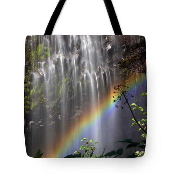 Rainbow Falls Tote Bag by Marty Koch