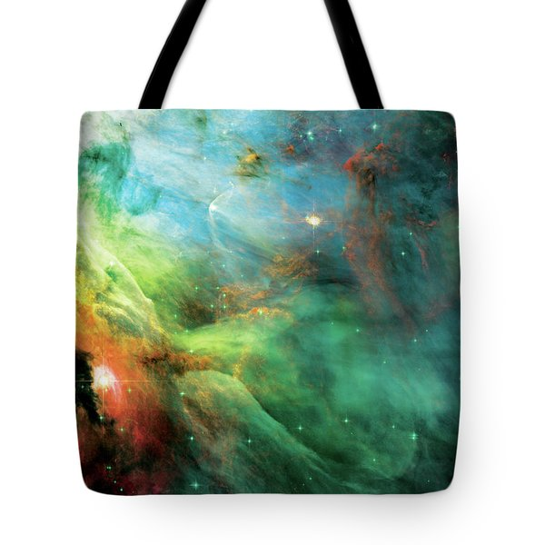 Rainbow Orion Nebula Tote Bag by The  Vault - Jennifer Rondinelli Reilly