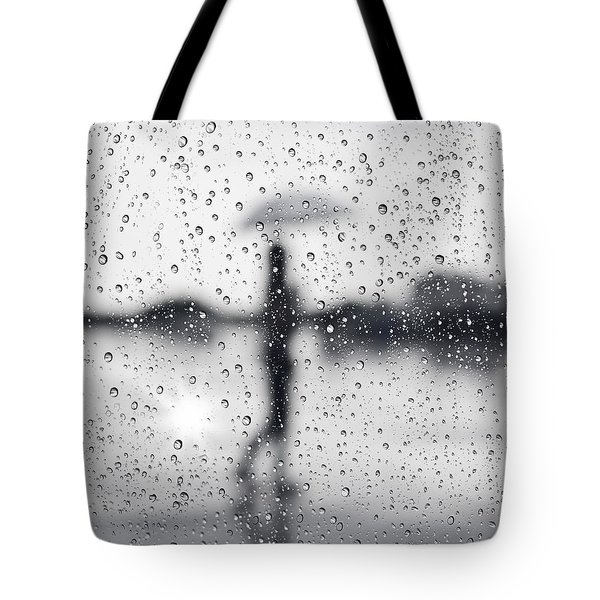 Rainy day Tote Bag by Setsiri Silapasuwanchai