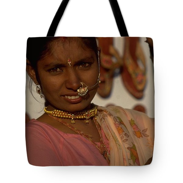Tote Bag featuring the photograph Rajasthan by Travel Pics