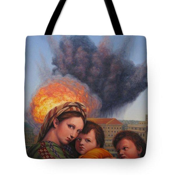 Raphael Moderne Tote Bag by James W Johnson