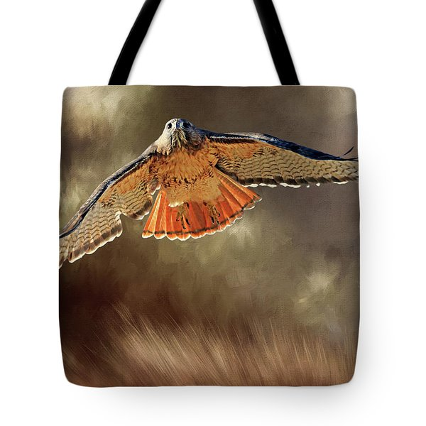 Raptor Tote Bag by Donna Kennedy