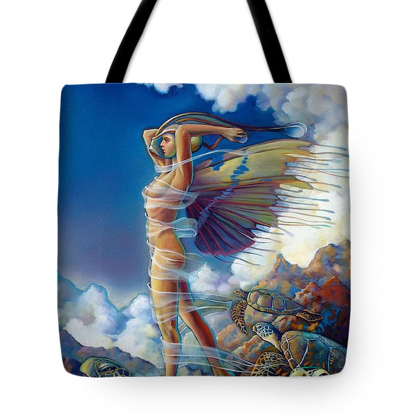 Rapture And The Ecstasea Tote Bag by Patrick Anthony Pierson