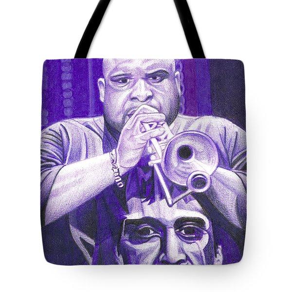 Rashawn Ross Tote Bag by Joshua Morton