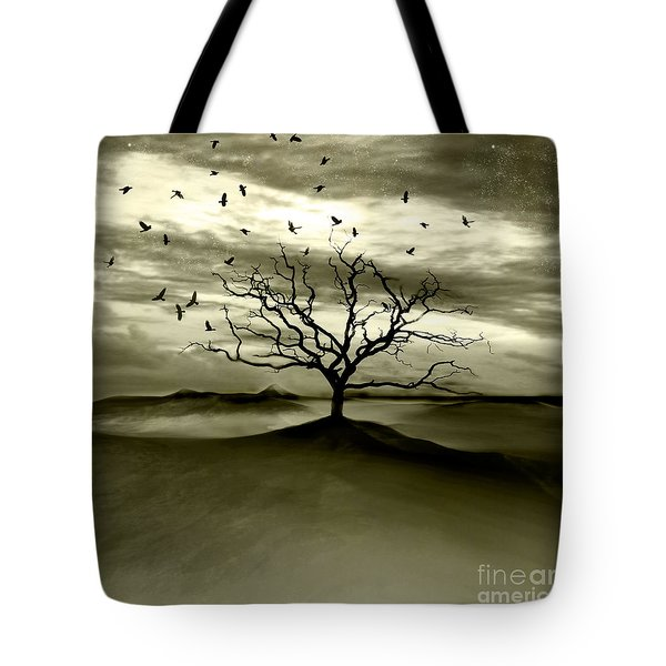 Raven Valley Tote Bag by Photodream Art