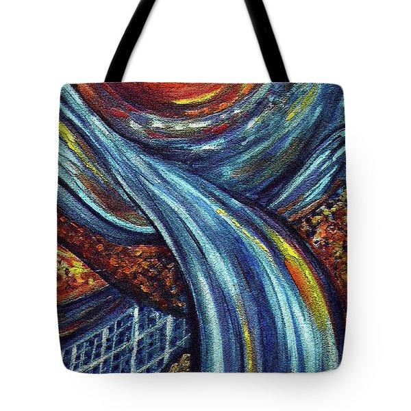 Ray Of Hope 3 Tote Bag by Harsh Malik