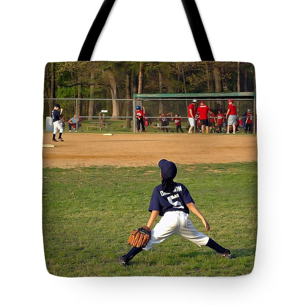 Ready Tote Bag by Brian Wallace