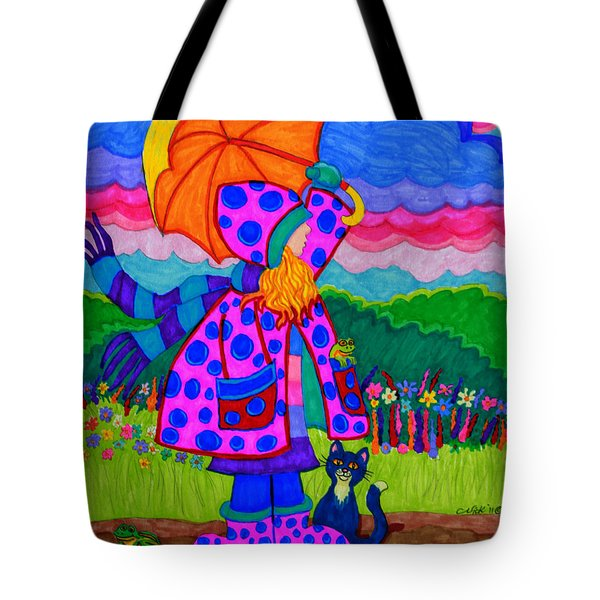 Ready For The Rain Tote Bag by Nick Gustafson