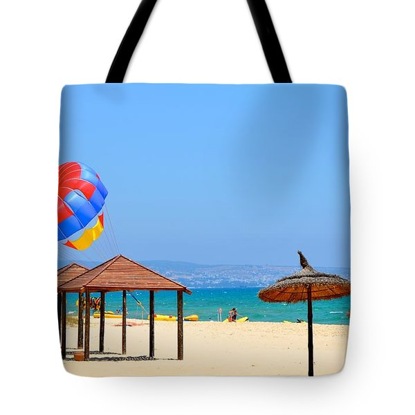 Ready To Launch Tote Bag by Corinne Rhode