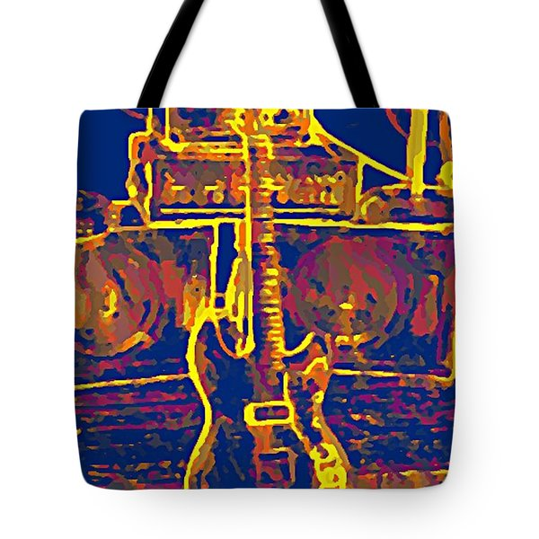 Ready To Rock Tote Bag by Bill Cannon