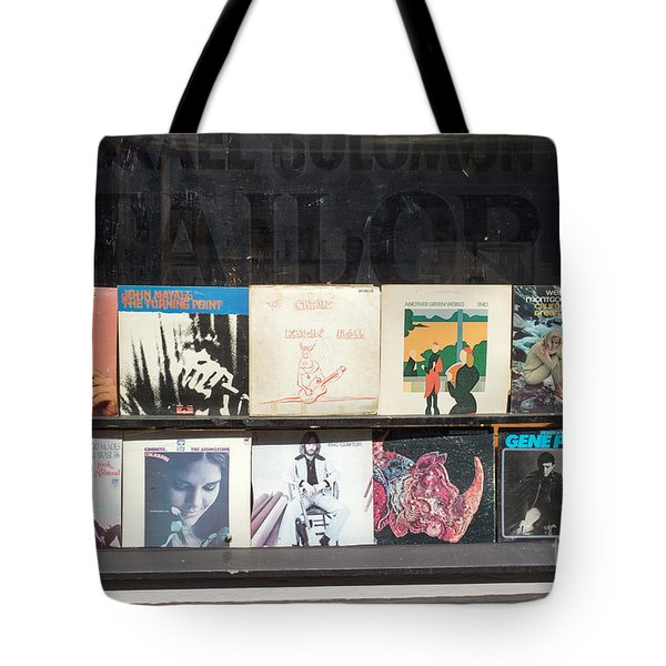 Record Store Burlington Vermont Tote Bag by Edward Fielding