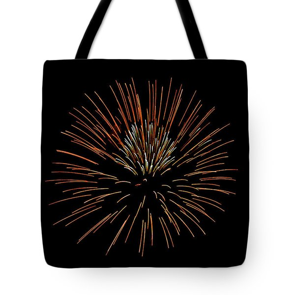 Red Ball Tote Bag by Phill Doherty