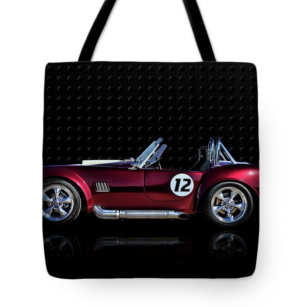 Red Cobra Tote Bag by Douglas Pittman