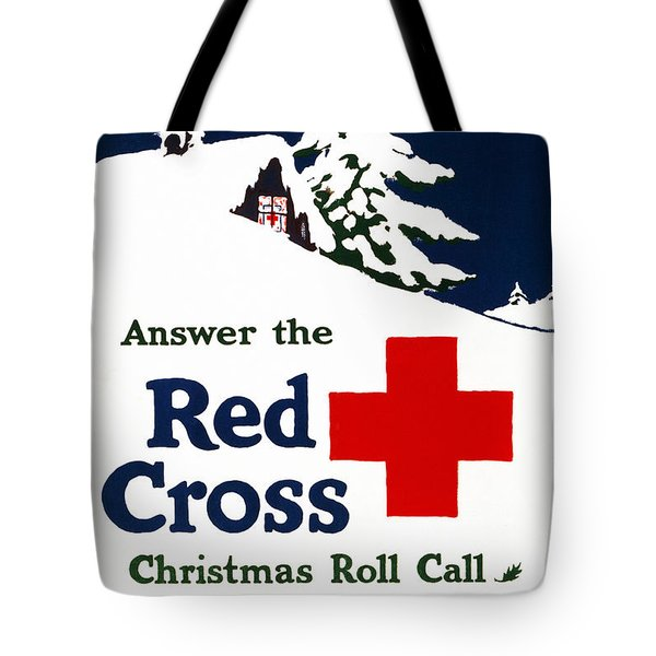 Red Cross Poster, C1915 Tote Bag by Granger