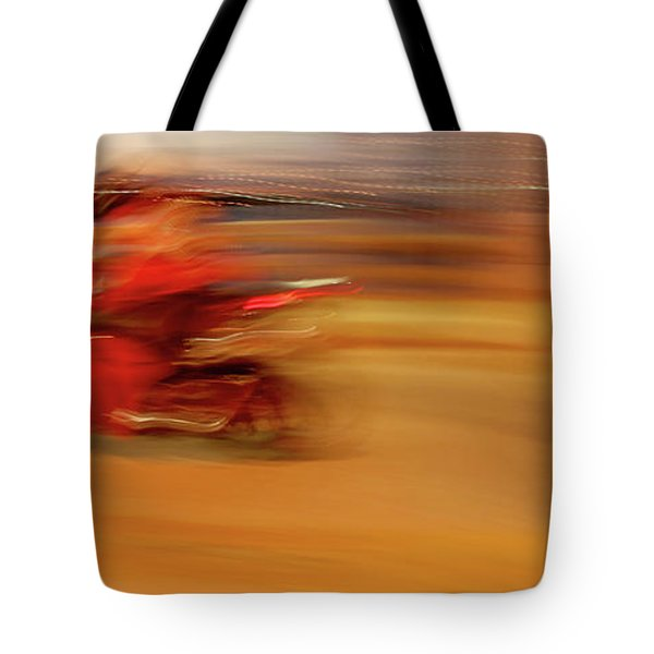 Red Hot Tote Bag by Glennis Siverson