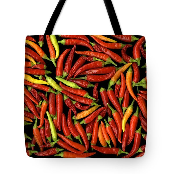 Red Hots Tote Bag by Christian Slanec