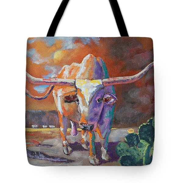 Red River Showdown Tote Bag by J P Childress